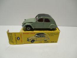 DINKY TOYS  FRANCE  2 Cv - Toy Memorabilia