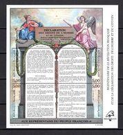 FRANCE  BLOC N° 11   NEUF SANS CHARNIERE  COTE 15.00€    REVOLUTION FRANCAISE VOIR DESCRIPTION - 1967-70 Maríanne De Cheffer