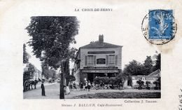 92  LA CROIX DE BERNY  CAFE RESTAURANT DALLIER - France