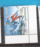 2006  113  SPORT TORINO SKISPRINGEN   OLYMPIADE  MONTENEGRO CRNA GORA    MNH - Montenegro
