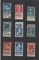 ALGERIE.  YT  Timbres Avec Pub  Obl   1926-55 - Used Stamps