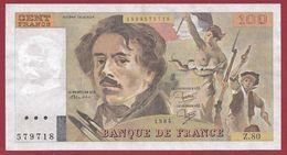 """100 Francs """"Delacroix"""" 1981 ----SUP----ALPH.Z.80 - 1962-1997 ''Francs''"""
