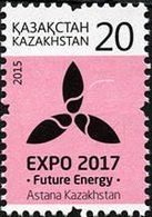 KAZAKHSTAN Courant-Astana Expo 17 (20T)1v Neuf ** MNH - Kasachstan