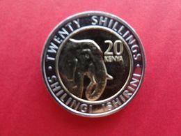 Kenya  20  Shillings  2018  Km !!! - Kenya