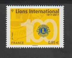TIMBRE - 2017 - N° 5152 - Centenaire Du Lions Club International  -  Neuf Sans Charnière - France