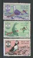 JETHOUT. Europa 1961. Série Ø 3 Valeurs. Oiseaux. Ucelli. Birds. Vögel - Local Issues