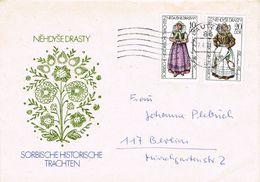 36803. Carta BAUTZEN (Alemania DDR) 1977. Tratado Historico SERBIO - [6] Democratic Republic