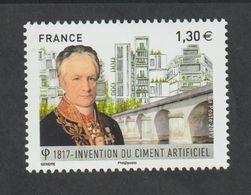 TIMBRE - 2017 - N° 5153  - Bicentenaire De L' Invention Du  Ciment Artificiel  - Neuf Sans Charnière - France