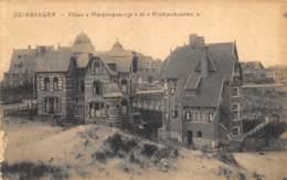 """Duinbergen - Villas """"Pimpenpoentje"""" Et """"Hinkankooren"""" - Knokke"""