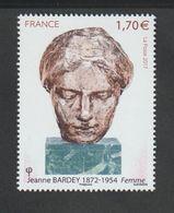 TIMBRE - 2017 - N° 5154  - Série Artistique , Jeanne Bardey  - Neuf Sans Charnière - France