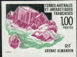 Terres Australes 1995 Minerals Minéraux Grenat Imperf MNH - Minéraux