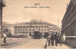 Neapel - Piazza Plebiscito E Palazzo Reale - Napoli