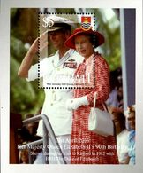 KIRIBATI Bloc 90ans Reine Elizabeth 2016 Neuf ** MNH - Kiribati (1979-...)