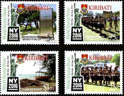 KIRIBATI Exposition New York 2016 4v  Neuf ** MNH - Kiribati (1979-...)
