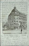 LUZERN Das Neue Volkshaus Pilatusplatz Eröffnung Im Frühling 1913 - LU Lucerne