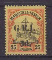 GRANDE - BRETAGNE : MARSHALL . OCCUPATION BRIT . N° 30 * .1914 . ( CATALOGUE YVERT ) . - Other