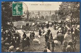 CPA 22 GUINGAMP - Marché Aux Cochons - Guingamp