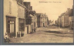 CPA Préveranges (18) Route De Culan De 1926 - Préveranges