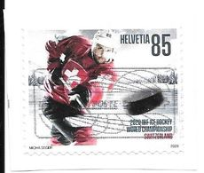 Switzerland: 2020 Ice Hockey World Championship Switzerland - Used Stamps