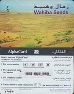 326/ Oman; Prepaid, AlphaCard; Wahiba Sands - Oman