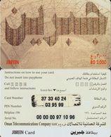 327/ Oman; Prepaid, Jibreen; Arabian Text 1 - Oman