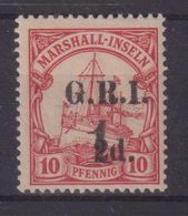 GRANDE - BRETAGNE : MARSHALL : OCCUPATION BRIT . N° 39 * . TB . SIGNE . 1914 . ( CATALOGUE YVERT ) . - Other