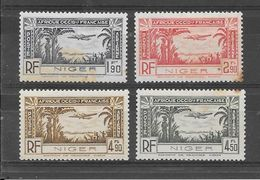 NIGER YT PA 1 à 4 * - Unused Stamps