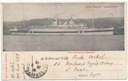 """Navire Hôpital """"Lafayette"""" - Guerre D'Orient, Croix Rouge, WW1 - Guerre"""