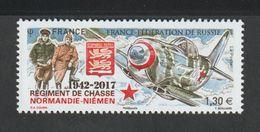 TIMBRE - 2017 - N° 5167 -75éme Anniversaire Du Régiment De Chasse , Normandie  Niémen  - Neuf Sans Charnière - France