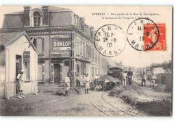 CPA 51 Epernay Une Partie De La Rue De Grandpierre Le Lendemain De L'orage Du Juin 1910 CBR - Epernay