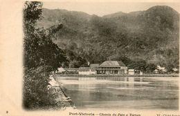 Seychelles - CPA. PORT VICTORIA -  Chemin Du Parc à Tortues - - Seychelles