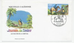 Cover / Postmark New Caledonia 2004 Postman - Postilion - Horse - Philately & Coins