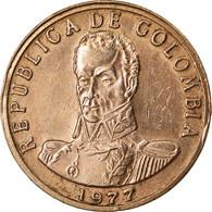 Monnaie, Colombie, 2 Pesos, 1977, TTB, Bronze, KM:263 - Colombie