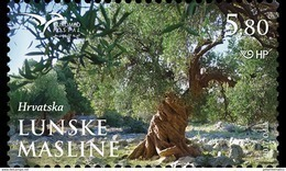CROATIA, 2017, MNH, JOINT ISSUE, EUROMED ,TREES, OLIVE TREES,1v - Trees