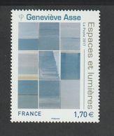 TIMBRE - 2017 - N° 5189 - Série Artistique ,  Geneviève Asse -    Neuf Sans Charnière - France