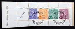 Finland 1974  Slot Machine Booklet Facit HA 9 L 1584  ( O ) ( Lot  Ks 670 ) - Booklets