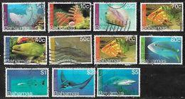 BAHAMAS 2012 MARINE FAUNA DEFINITIVES SELECTION TO $5 - Bahamas (1973-...)