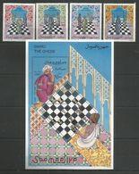 SOMALIA - MNH - Sport - Chess - Art - Timbres