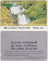 350/ Sri Lanka; P6. Waterfall, CN 02000014 - Sri Lanka (Ceylon)