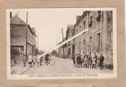 Dept 27 : ( Eure ) Saint-Pierre-de-Cormeilles, Route De Thiberville, Tampon De La Poste 10/05/1944. - Other Municipalities