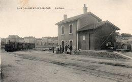 Saint Laurent Les Macon La Gare - France