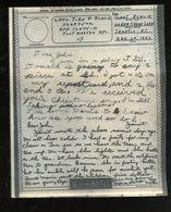 V-mail WWII Dec 1943 APO 12475D John W. Black 32487502 (V-1l) - Documents Historiques