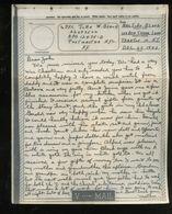 V-mail WWII Dec 1943 APO 12475D John W. Black 32487502 (V-1m) - Documents Historiques
