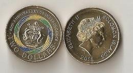 Solomon Islands - 2 Dollars 2018 UNC Lemberg-Zp - Salomonen