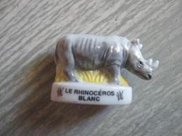 Fève Les Rhinocéros Blanc * Série Atlas * Fèves ¤ Rare Ancienne - Animals