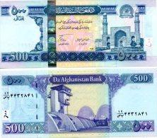AFGHANISTAN 500 Afghanis (SH1389/ 2010 ) P 76 B UNC - Afghanistan