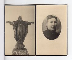 Doodsprentje VROUW FEMME Maria Emma DE WAEL °1855 APPELS +1942 GENT // THEUNIS - Andachtsbilder
