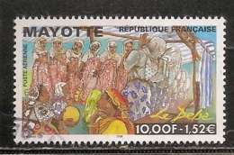 MAYOTTE PA OBLITERE - Mayotte (1892-2011)