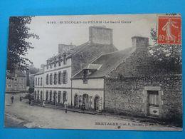 22 ) Saint-nicolas-du-pélem - N° 6192 - Le Sacré Coeur - Année 1919 - EDIT : Hamonic - Saint-Nicolas-du-Pélem