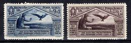 Italie Poste Aérienne YT N° 23 Et 24 Neufs ** MNH. TB. A Saisir! - Airmail